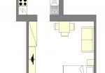 Type 1 - 1190 Vienna, Obkirchergasse floorplan