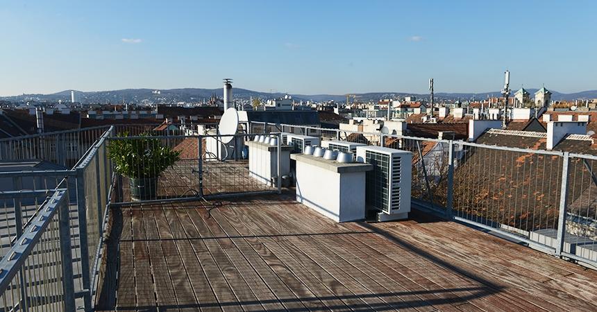 1160 Vienna, Thaliastraße roof terrace