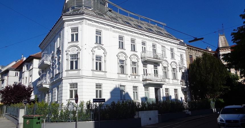 Eckpergasse house