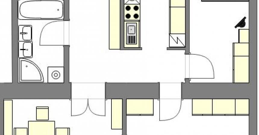 1030 Vienna, Rechte Bahngasse Floorplan
