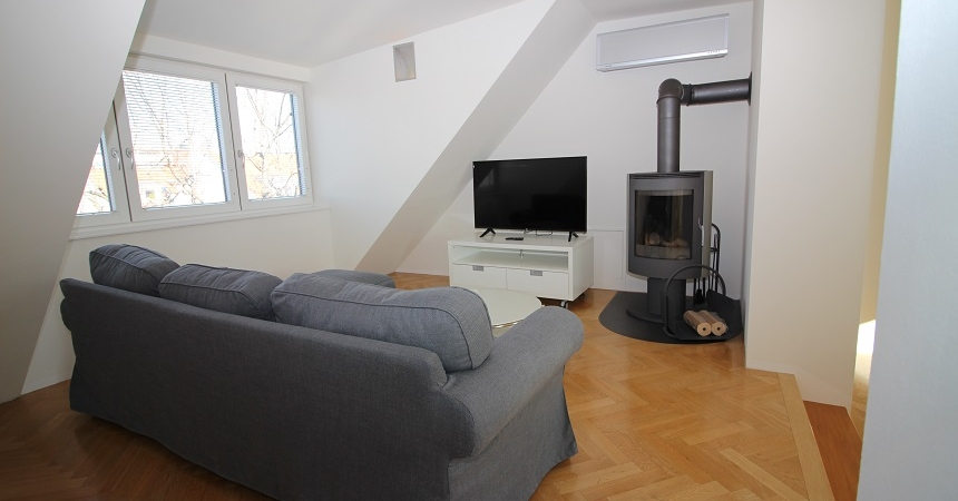 1160 Vienna, Thaliastraße living room