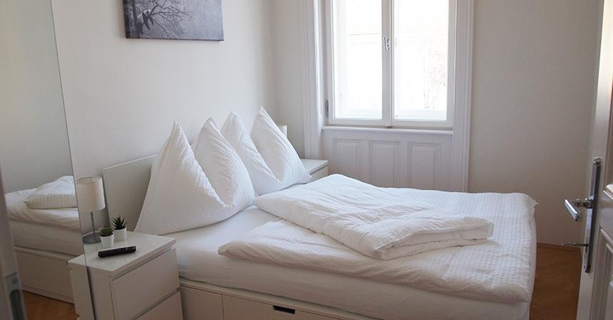 Eckpergasse bedroom