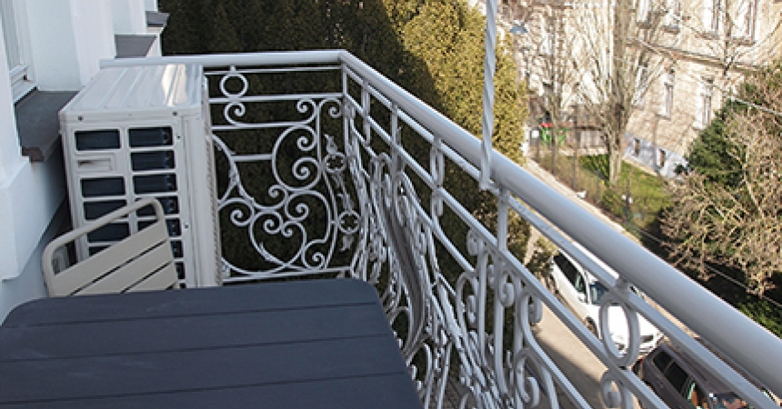 Eckpergasse Balkon