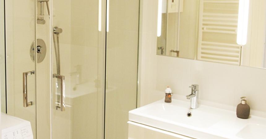 1030 Vienna, Rechte Bahngasse Bathroom